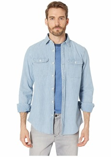 Vineyard Vines Sea Breeze Solid Classic Dockman Shirt