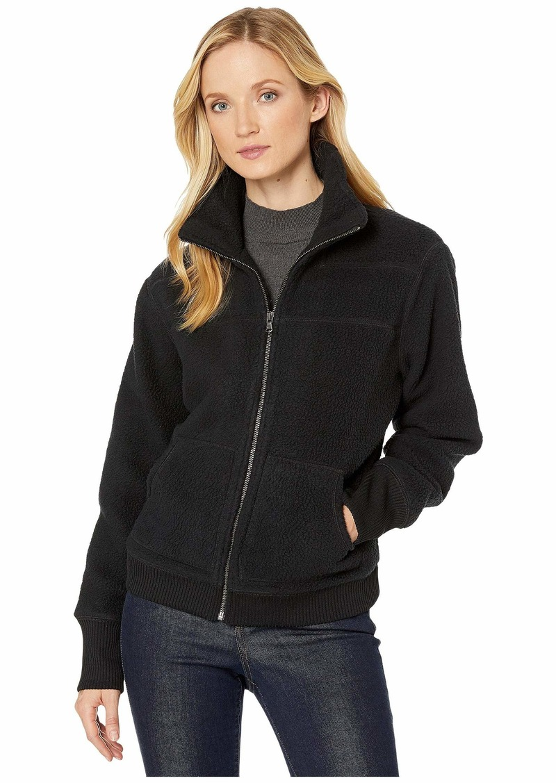 Vineyard Vines Seamed Sherpa Bomber Jacket