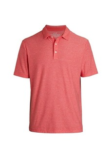 Vineyard Vines Seawall Edgartown Solid Polo