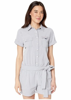 Vineyard Vines Seersucker Harbor Cover-Up Romper