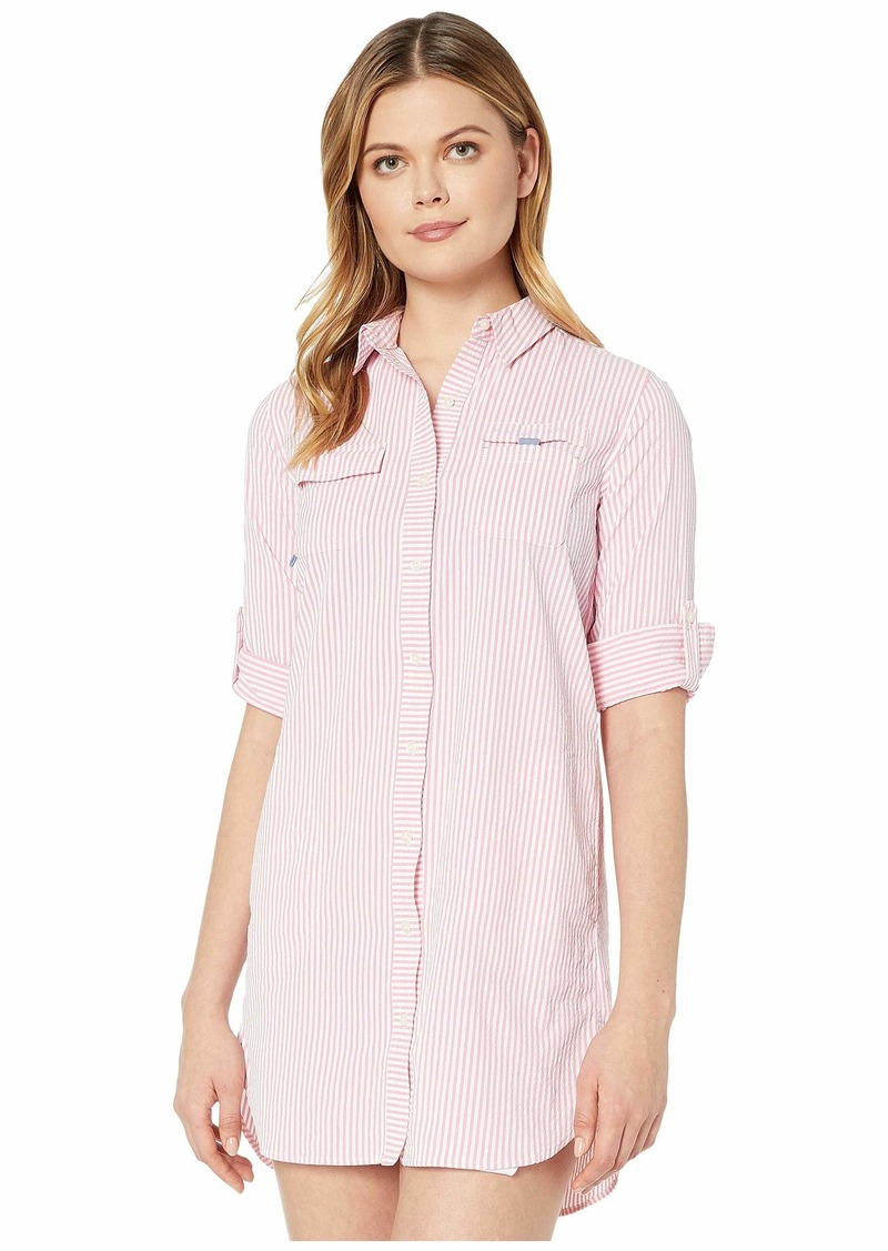 Vineyard Vines Seersucker Harbor Shirt Cover-Up