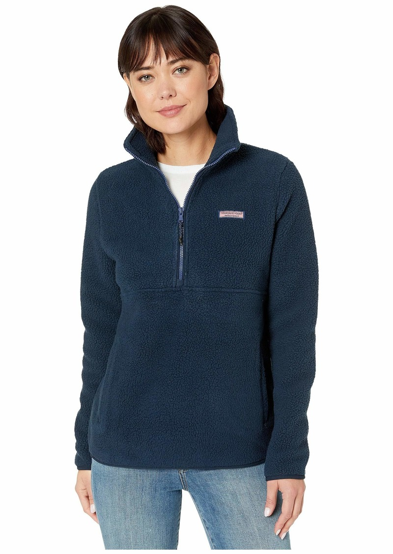 Vineyard Vines Sherpa 1/2 Zip