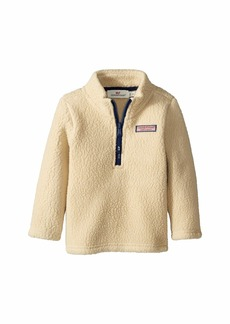 Vineyard Vines Sherpa Harbor 1/2 Zip (Toddler/Little Kids/Big Kids)