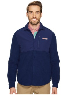 Vineyard Vines Shirt Jacket Snap Fleece