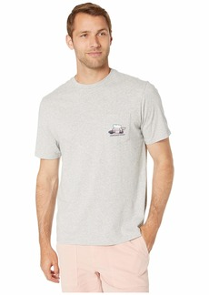 Vineyard Vines Short Sleeve BBQ Whale Pocket Tee