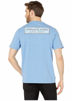 Vineyard Vines Short Sleeve Beach Huts Box Pocket Tee