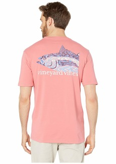 Vineyard Vines Short Sleeve Camo Tuna Pocket Tee