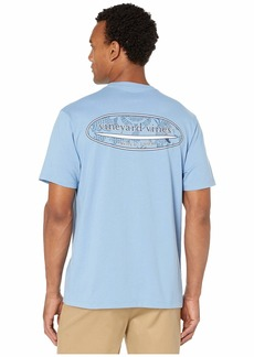 Vineyard Vines Short Sleeve Crabby Fish Stamp Pocket Tee