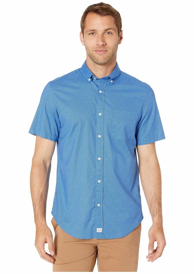 Vineyard Vines Short Sleeve Mini Starfish Classic Murray Shirt