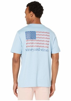 Vineyard Vines Short Sleeve Party In The USA Pocket Tee