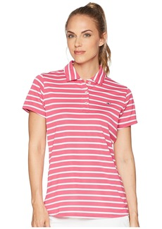 Vineyard Vines Short Sleeve Striped Pique Polo