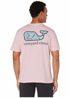 Vineyard Vines Short Sleeve Surfs Up Whale Fill Pocket Tee