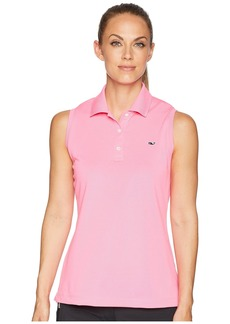 Vineyard Vines Sleeveless Performance Pique Polo
