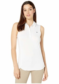 Vineyard Vines Sleeveless Solid Jersey Polo