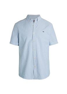 Vineyard Vines Slim-Fit Seersucker Sport Shirt