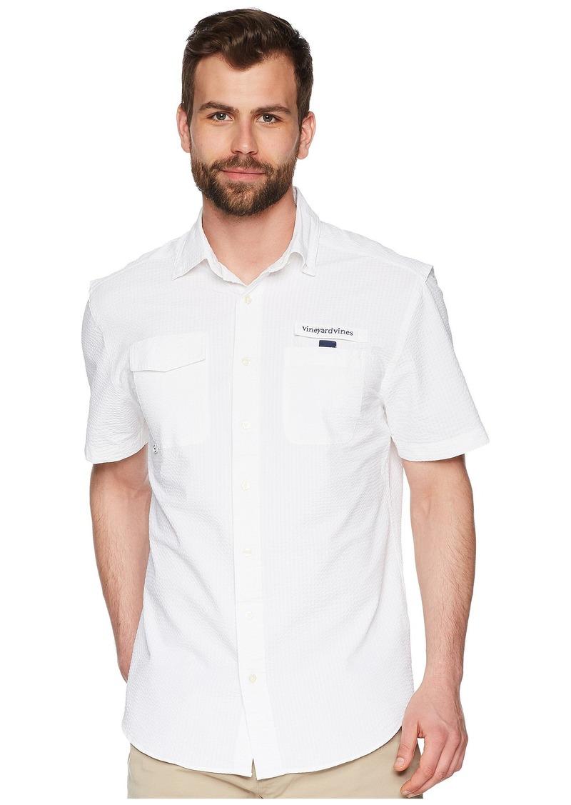 Vineyard Vines Solid Short Sleeve Harbor Shirt