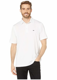 Vineyard Vines St. Kitts Solid Sankaty Polo