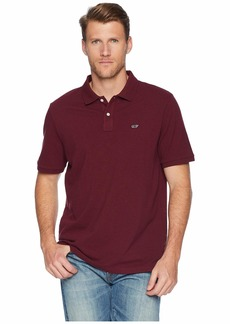 Vineyard Vines Stretch Pique Heather Polo