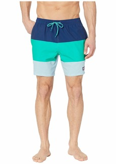 Vineyard Vines Stripe Chappy Swim Trunks