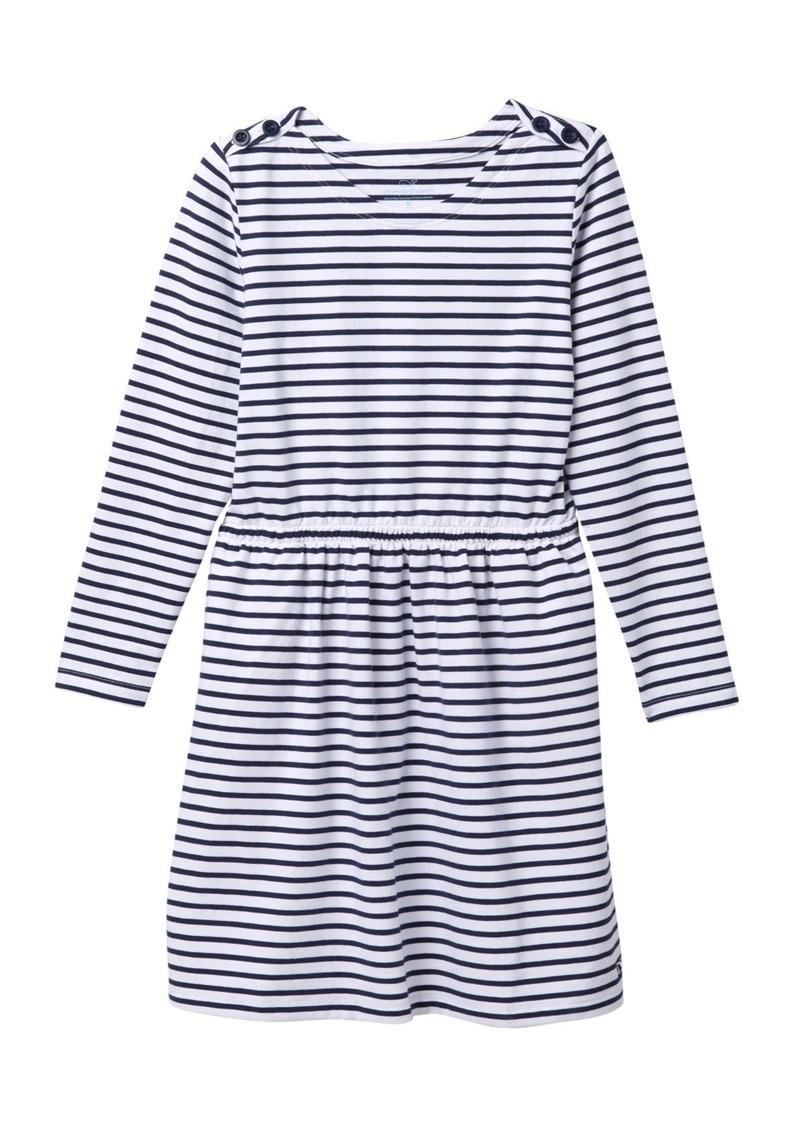 Vineyard Vines Stripe Knit Dress (Big Girls)