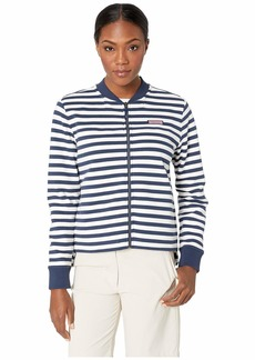 Vineyard Vines Stripe Shep Shirt Bomber Jacket