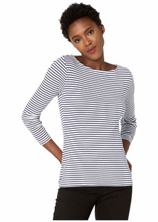 Vineyard Vines Striped Simple Boat Neck Tee