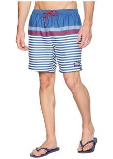 Vineyard Vines Summerall Stripe Chappy Swim Trunks