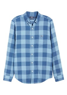 Vineyard Vines Swan Neck Slim Fit Tucker Sport Shirt