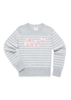 Vineyard Vines Toddler's, Little Girl's & Girl's Striped Cotton Sweater