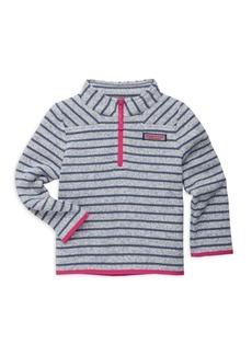 Vineyard Vines Toddler's, Little Girl's& Girl's Striped Fleece Sweater