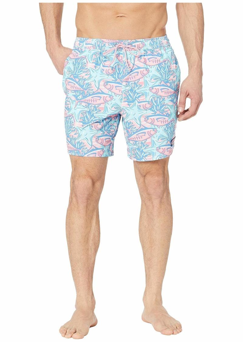 0abfe3a9b1 Vineyard Vines Tuna & Starfish Chappy Swim Trunks | Swimwear