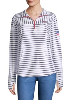 Vineyard Vines USA Mixed Stripe Sweater