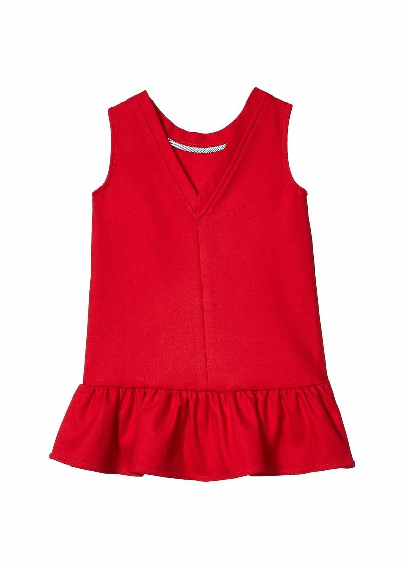 Vineyard Vines V-Back Ponte Dress (Toddler/Little Kids/Big Kids)