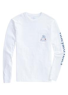 vineyard vines #1 Draft Pick Long Sleeve Pocket T-Shirt
