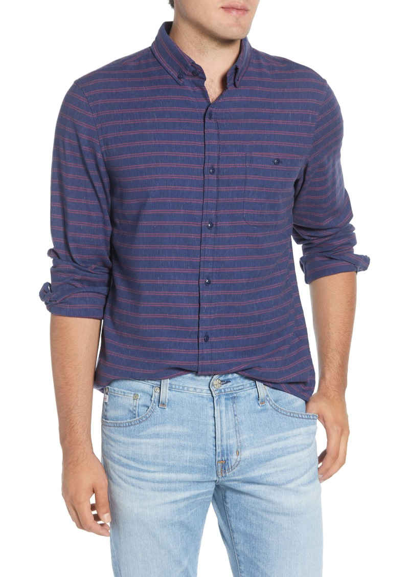vineyard vines Alder Longshore Slim Fit Stripe Button-Down Shirt