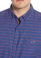 vineyard vines Alder Longshore Slim Fit Stripe Button-Down Shirt