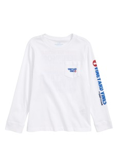 vineyard vines American Dream Logo T-Shirt (Big Boys)