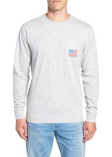 vineyard vines American Flag Pocket T-Shirt