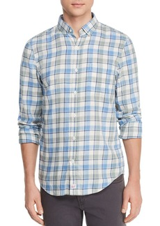 Vineyard Vines Bayside Plaid Flannel Slim Fit Button-Down Shirt
