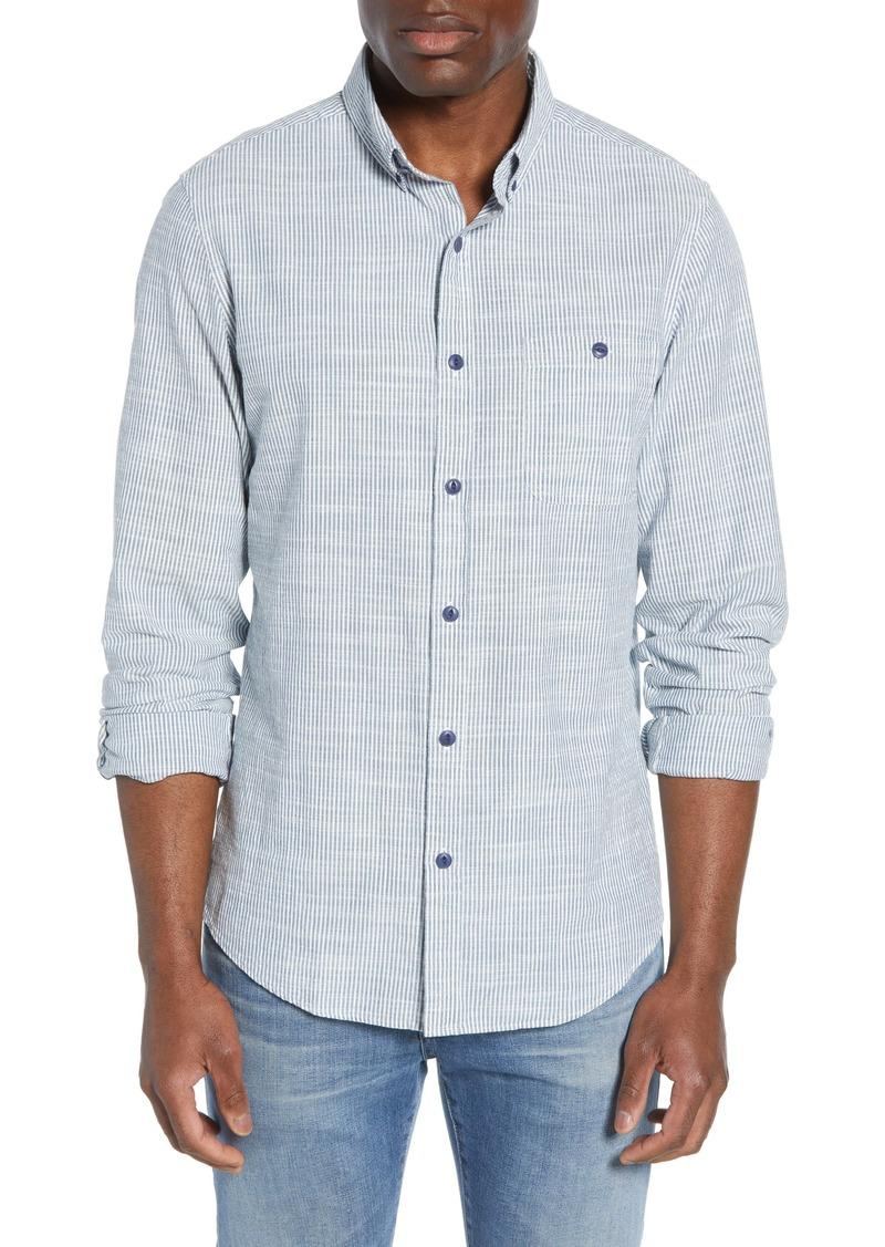 vineyard vines Bayside Slim Fit Pinstripe Sport Shirt