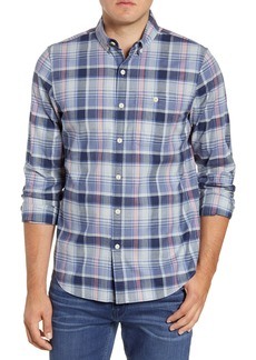 vineyard vines Bayside Slim Fit Plaid Button-Down Sport Shirt
