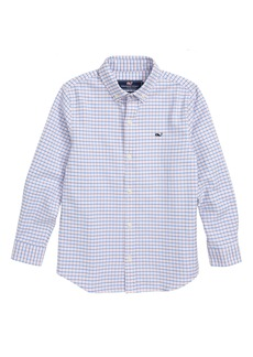 vineyard vines Bell Haven Plaid Oxford Shirt (Big Boys)