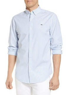 vineyard vines Bengal Stripe Regular Fit Shirt