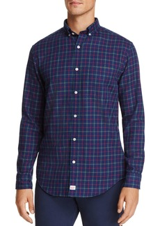 Vineyard Vines Blue Spruce Plaid Classic Fit Button-Down Shirt