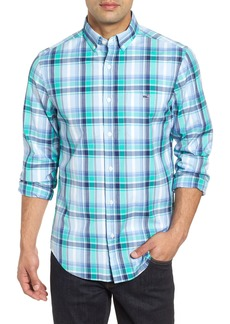 vineyard vines Boathouse Slim Fit Plaid Tucker Sport Shirt