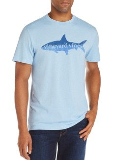 Vineyard Vines Bonefish High Low Island Logo Graphic Tee