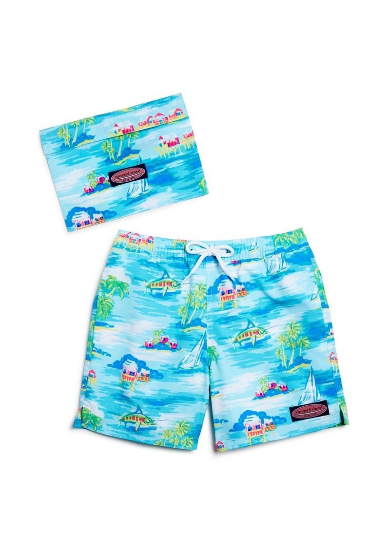 b09e74aa63442 Vineyard Vines Vineyard Vines Boys  Beach Hut Scenic Bungalow Swim ...