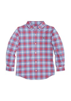 Vineyard Vines Boys' Checkered Performance Shirt - Little Kid, Big Kid