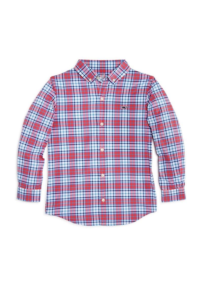 Vineyard Vines Boys' Checkered Performance Shirt - Little Kid, Big Kid