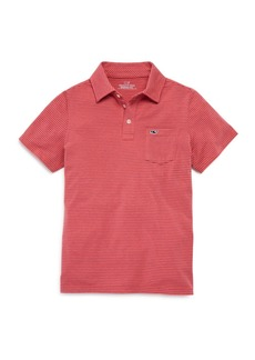 Vineyard Vines Boys' Edgardtown Striped Polo Shirt - Little Kid, Big Kid